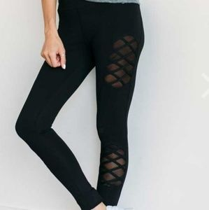 ILY Couture Mesh Leggings